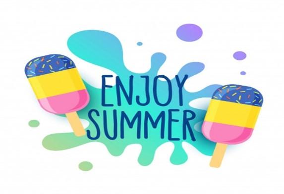 enjoy summer graphic