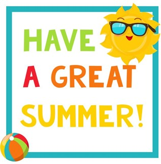 have a great summer sun graphic