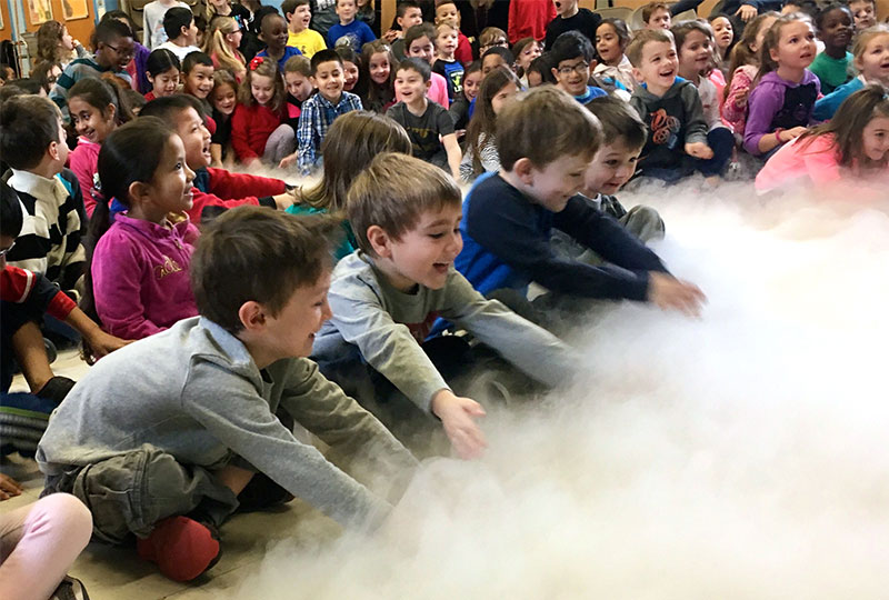 Centre Students Learn About the Weather