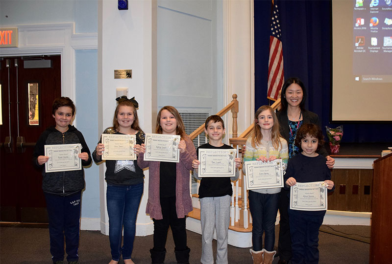 Reflections Winners Recognized by BOE photo