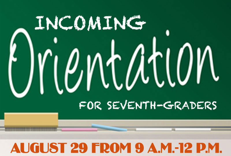 Orientation for Incoming Seventh-Graders Photo