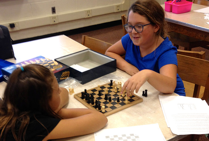Chess Club Comes to Rhame