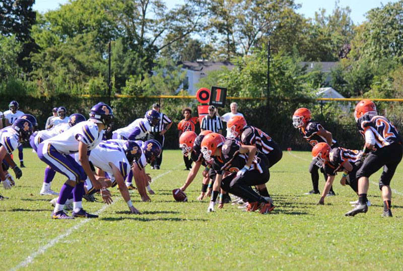 East Rockaway Rocks Opponent at Homecoming