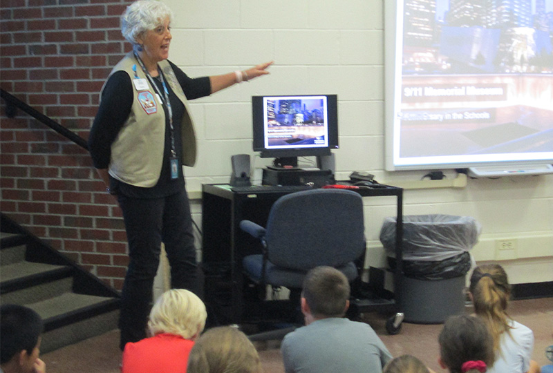 Students Educated on 9/11 Events