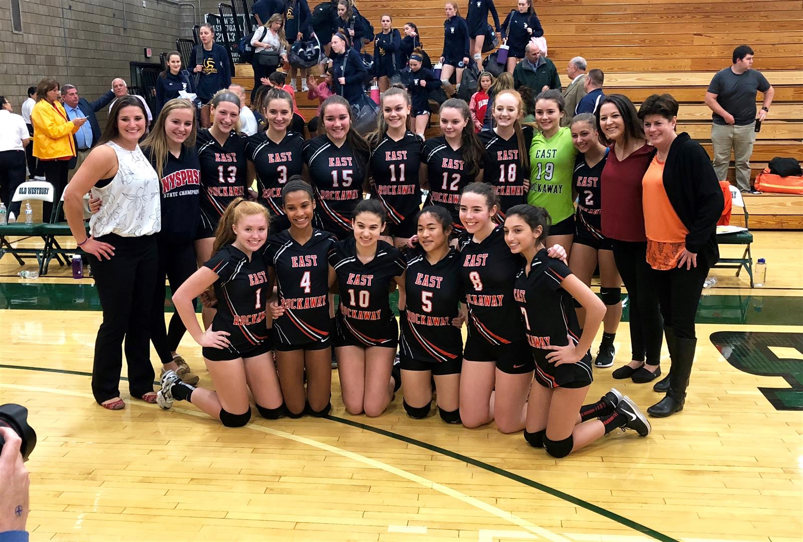 Girls Volleyball Team are Nassau County Champions