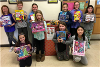 Centre Student Council Collects Toys photo