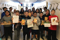 Sixth-Graders at Centre Read 'Bud, Not Buddy' photo