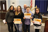 Board Honors Memorial Essay Winners photo