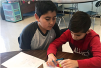 Centre Students Find Equivalent Fractions photo