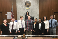 Mock Trial Team Competes at Supreme Court photo