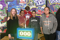 Students Get Competitive at the Brain Game photo