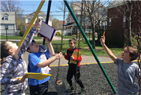 Rhame Students Search Out Simple Machines photo