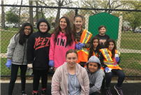 Kiwanis Assists in Local Clean Up photo