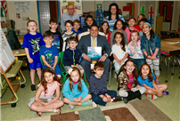 Community Read Aloud at Rhame Avenue photo