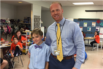 Rhame Student Is Principal for a Day photo