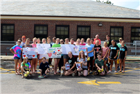 East Rockaway Students Pay It Forward with a Car Wash photo