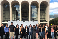Tri-M students Visit Lincoln Center photo