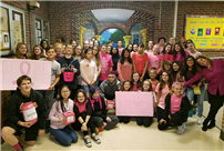 Students Wear Pink for a Good Cause photo