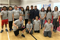 Robotics Team Looks Forward to Upcoming Competition photo