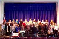Senior Chorus Workshop with Hofstra's Dr. David Fryling photo
