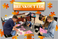 AP Physics Participates in Breakout EDU