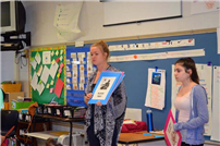 Peer AIDS Educators Present Information to Elementary Students Photo 2