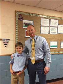 Rhame Student Is Principal for a Day photo 2