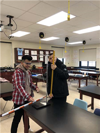 Students Work Together in Physics photo 2