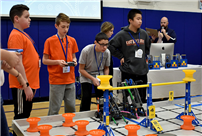 Robotics Succeed to State Competition photo