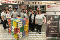 Students Constructed Rubik's Cube for CANstruction photo thumbnail138969