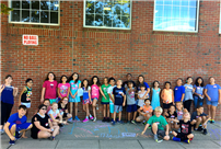 Rhame Avenue K-Kids Share Inspiration at First Meeting Pic