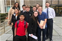 Mock Trial Team Competes in Nassau Tournament photo