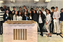 Students Venture to New York Stock Exchange photo thumbnail138493